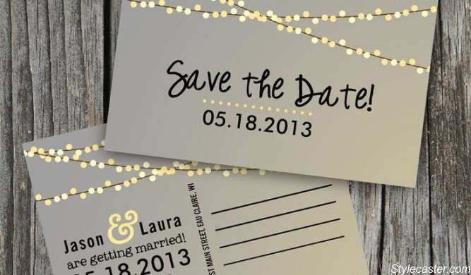 Save-the-date kaart
