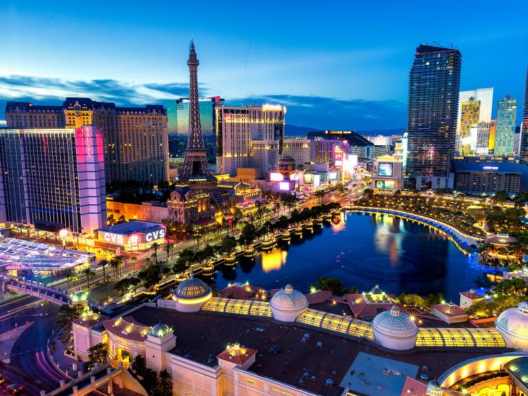 Las Vegas the place to be!